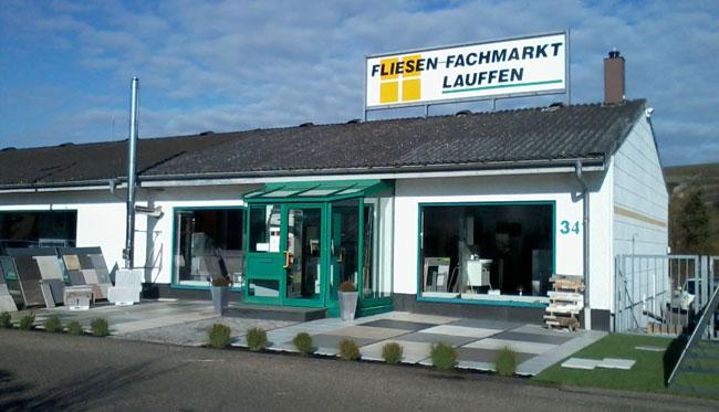 Fliesen-Fachmarkt Lauffen - Firmengebäude