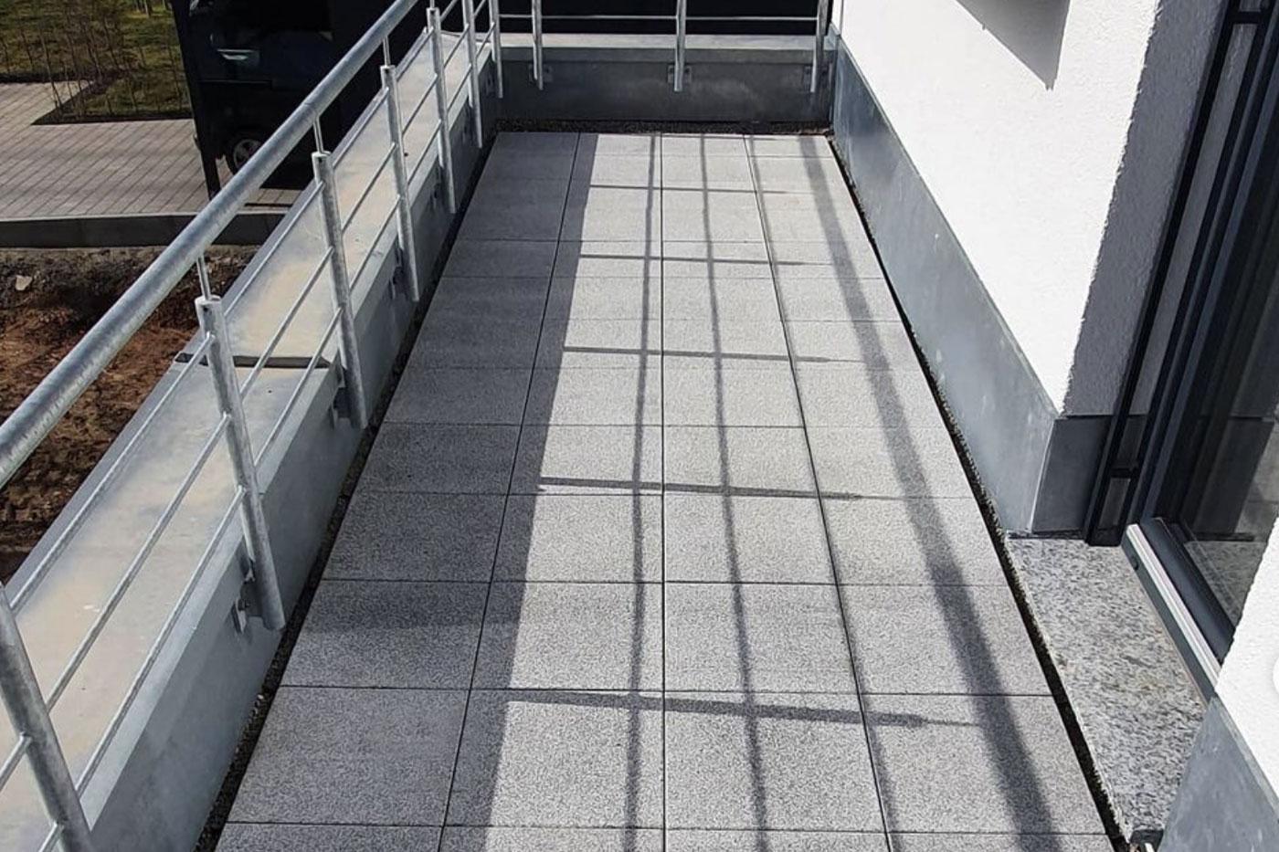 Fliesen-Fachmarkt Lauffen - Referenz Balkon